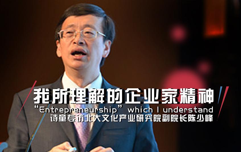 詩童對話陳少峰:我所理解的企業家精神